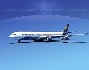 3D Airbus A340-600 Air Tours