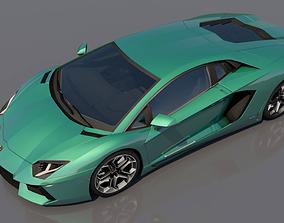 lmaborghini sv 3D Lamborghini Aventador