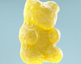 3D asset low-poly Gummy Bear
