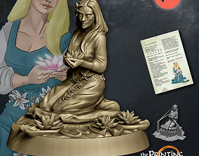 3D print model Silverflower - Presupported