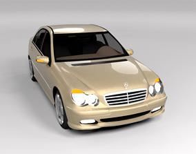 MERCEDES C CLASS LOWPOLY 3D model