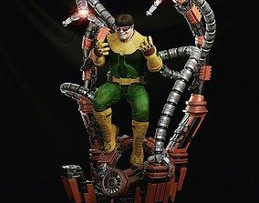 Doc Ock Marvel Spider-man Doctor Octopus Octavius 3D 1