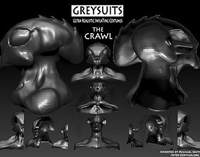 The Crawl- An inflating Costume 3D print model
