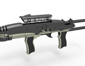 3D model Hero MACO Particle Rifle from Star Trek