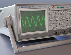 Oscilloscope 3D model