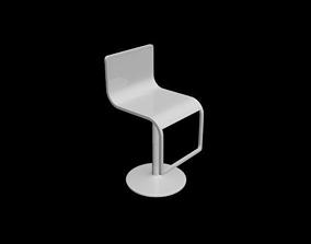 Minimalist chair Silla minimalista 3D printable model