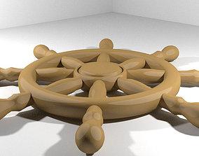 3D model Steering - Ship type