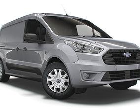 3D model Ford Transit Connect Trend UK spec L2 DCIV 2020