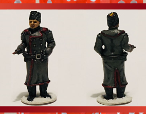 28mm Soviet Russian Winter General 3D printable model