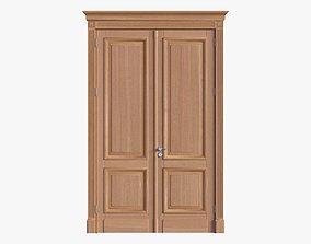 Door classic double 04 3D