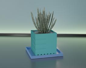 Succulent plant pot 28 3D printable model