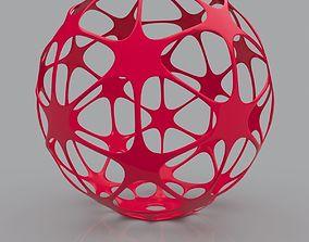 Futuristic Geometric Shape 3D Print Model