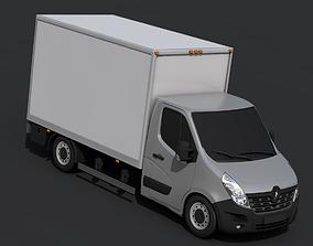 Renault Master Pickup 2018 3D asset game-ready