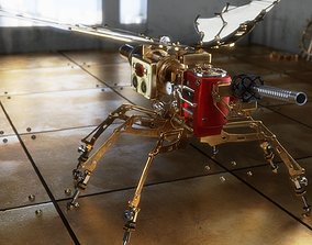 3D spysteamer - steampunk device