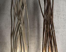 branches 3D Ramas Marron Floor Lamp