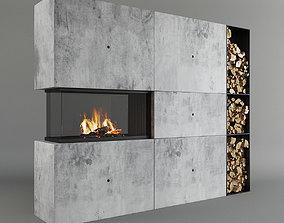3D model Fireplace 30