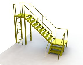 3D model Stair playground