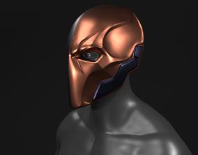 Batman Arkham Origins Deathstroke Helmet 3D Printable 1
