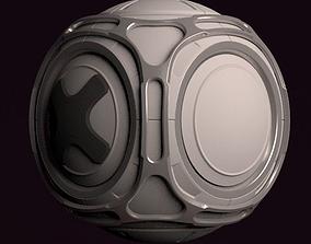 3D model Escape Pod
