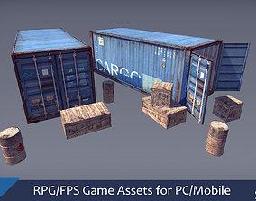 3D model RPG FPS Game Assets for PC Mobile Industrial 1
