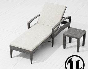 Dedon Panama Lounge UE4 3D model