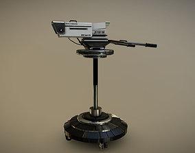 HD TV Camera 3D model
