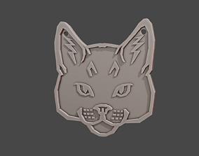3D printable model Pendant totem animal CAT