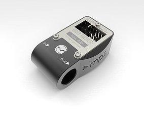 Aquacomputer MPS 400 Flow Sensor 3D
