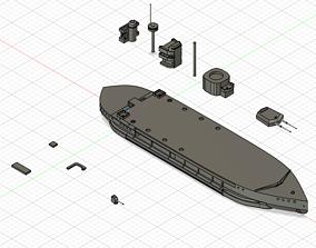 3D printable model Monitor HMS Erebus