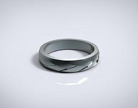 WEDDING RING BRAID A 3D print model