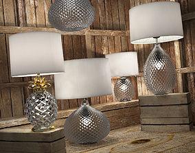 Decorative lamps Glamour fixture 3D model