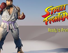 3D printable model Ryu Street Fighter