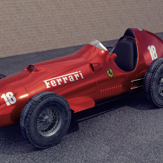 Ferrari F375 F1 3D Model