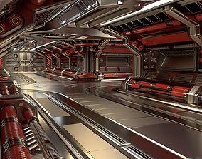 3D model Sci Fi Modular Corridor STANDARD EDITION