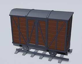 3D model Freight Wagon