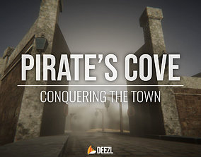 3D asset Pirates Cove - Conquering The Town - All Formats