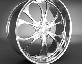 3D Wheel Rim car-wheel