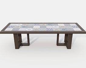3D TIDELLI URBAN DINING TABLE