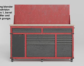 3D model Garage 60inch tool cabinet