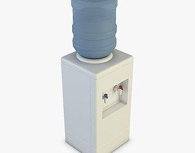 Water Cooler 3D waiting