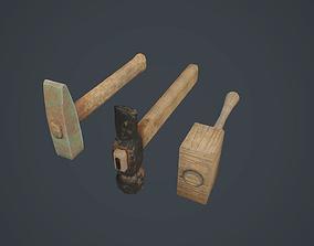 Hammers 3D asset