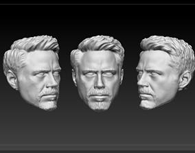 Head Tony Stark 3D printable model