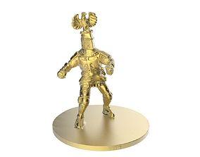 Scanned Knight Statue 3D print model