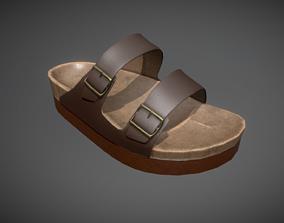 3D model Leather Sandal