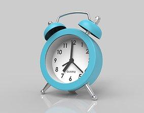 3D model Mini Double Bell Alarm Clock QUARTZ