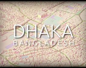 Dhaka city center 3D