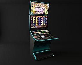 casino slot machine 3D model