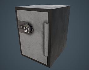3D model Electronic Safe PBR