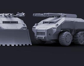 3D print model Defender APC - Mutant Militia