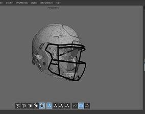 3D asset Footbal Helmet
